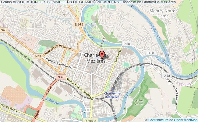 plan association Association Des Sommeliers De Champagne-ardenne