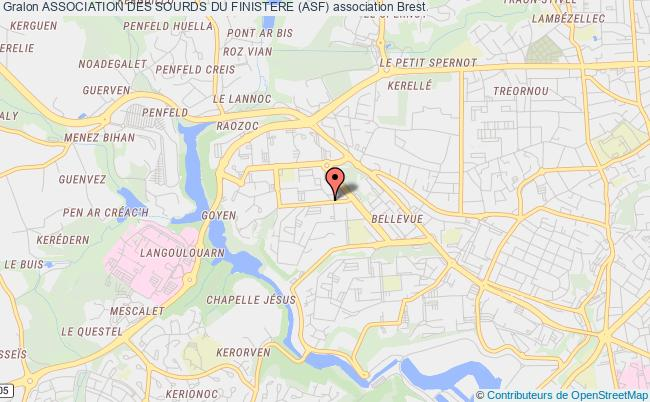 plan association Association Des Sourds Du Finistere (asf)