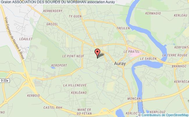 plan association Association Des Sourds Du Morbihan