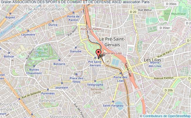 plan association Association Des Sports De Combat Et De Defense Ascd
