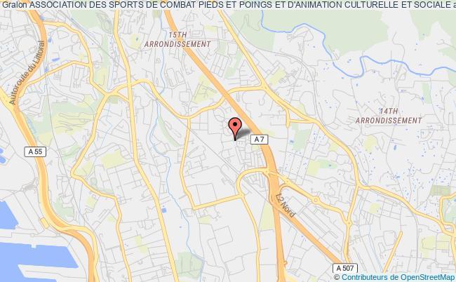 plan association Association Des Sports De Combat Pieds Et Poings Et D'animation Culturelle Et Sociale