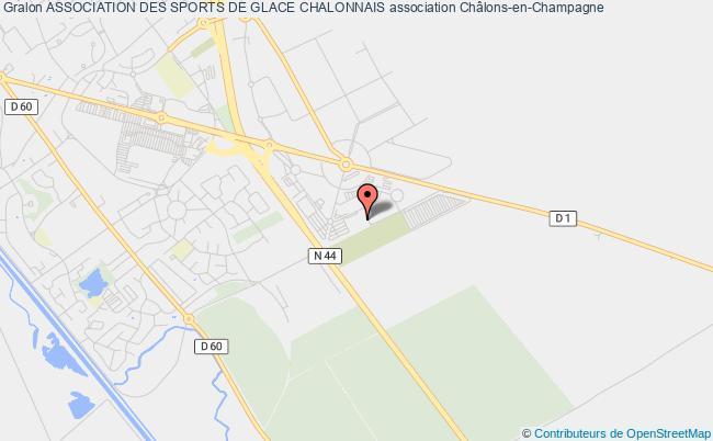 plan association Association Des Sports De Glace Chalonnais