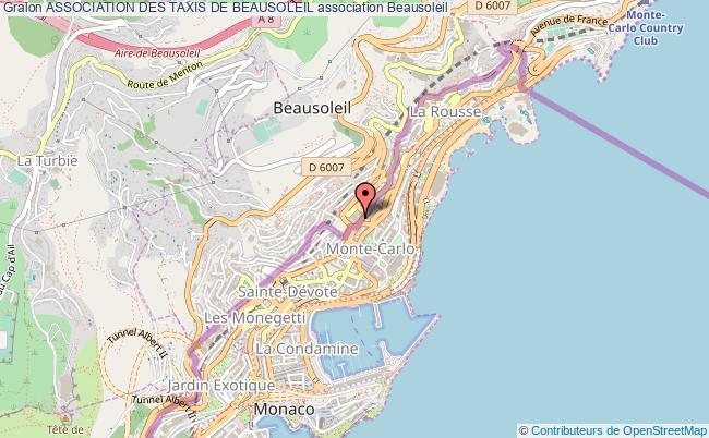 plan association Association Des Taxis De Beausoleil