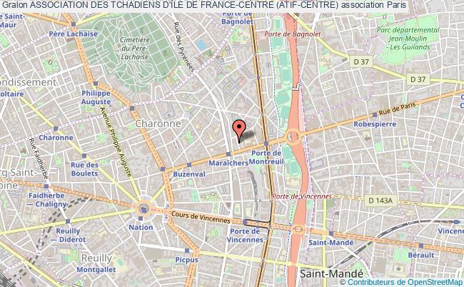 plan association Association Des Tchadiens D'Île De France-centre (atif-centre)