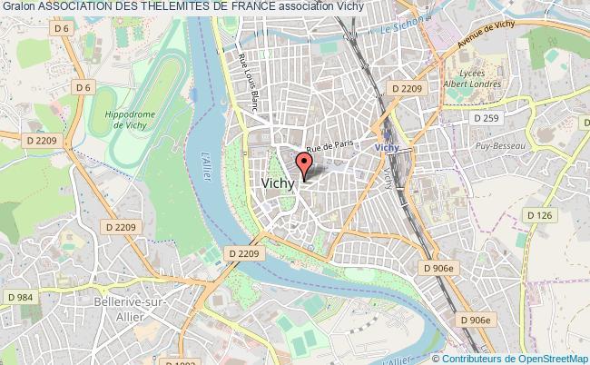 plan association Association Des Thelemites De France