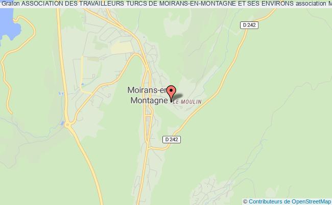 plan association Association Des Travailleurs Turcs De Moirans-en-montagne Et Ses Environs
