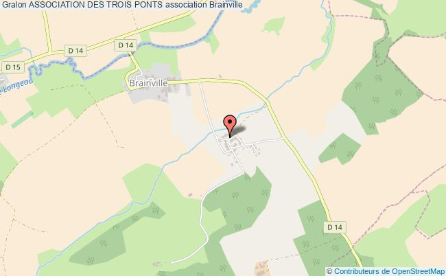 plan association Association Des Trois Ponts