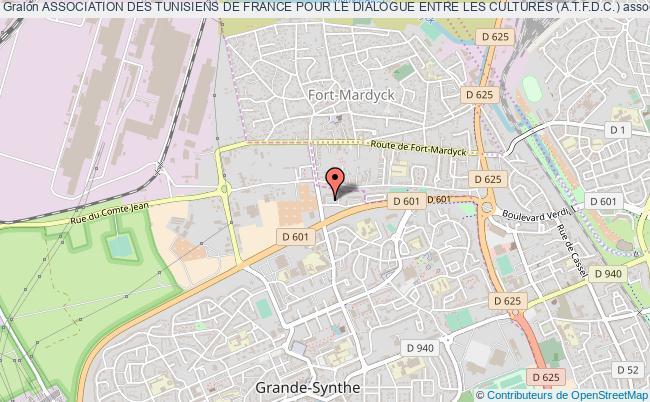 plan association Association Des Tunisiens De France Pour Le Dialogue Entre Les Cultures (a.t.f.d.c.)