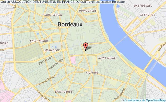 plan association Association Des Tunisiens En France D'aquitaine