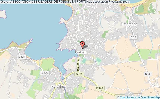 plan association Association Des Usagers De Porsguen-portsall
