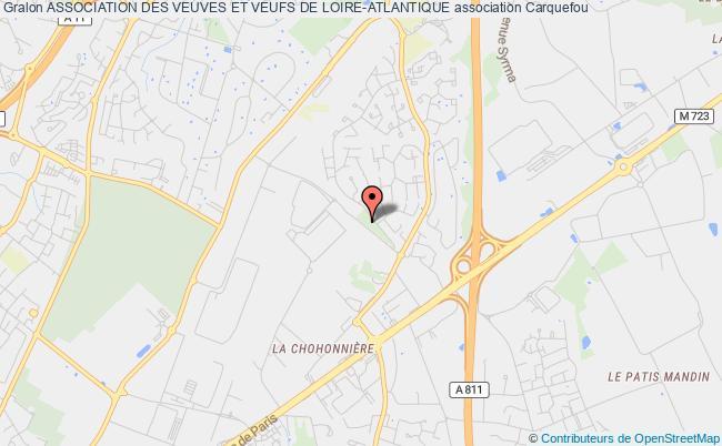 plan association Association Des Veuves Et Veufs De Loire-atlantique