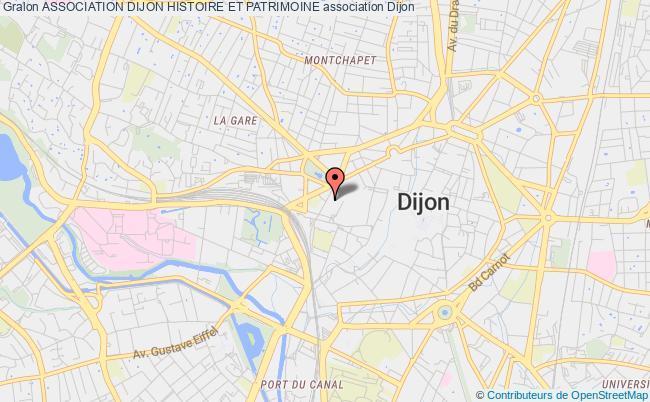 plan association Association Dijon Histoire Et Patrimoine