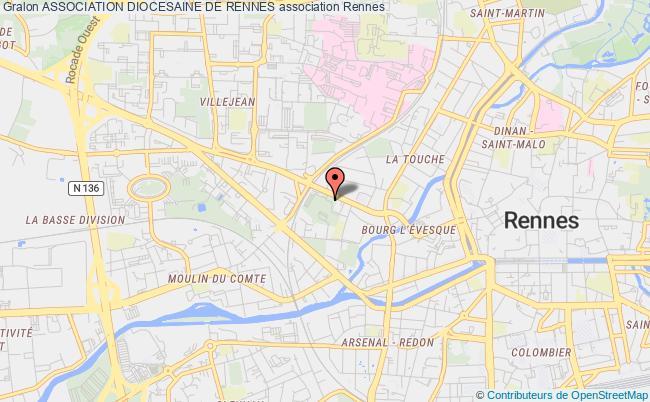 plan association Association Diocesaine De Rennes