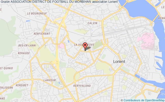 plan association Association District De Football Du Morbihan