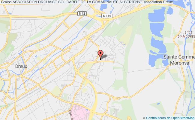 plan association Association Drouaise Solidarite De La Communaute Algerienne