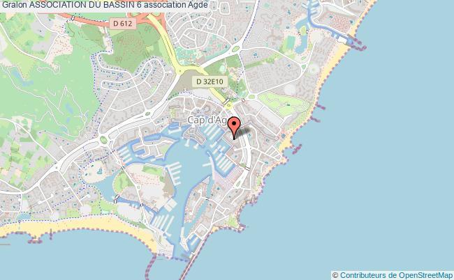 plan association Association Du Bassin 6 Agde