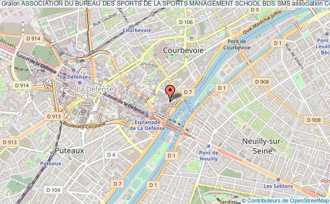 plan association Association Du Bureau Des Sports De La Sports Management School Bds Sms Courbevoie