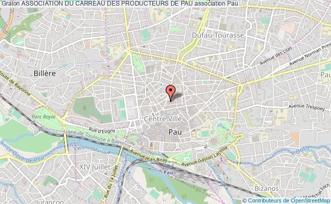 plan association Association Du Carreau Des Producteurs De Pau