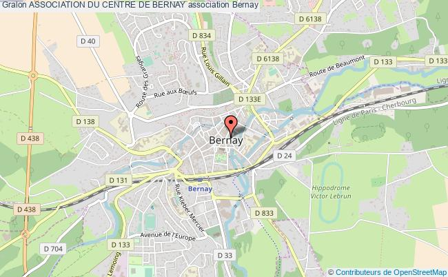 plan association Association Du Centre De Bernay