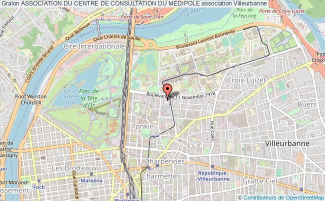 plan association Association Du Centre De Consultation Du MÉdipole