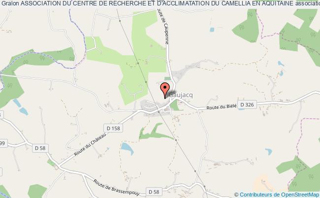 plan association Association Du Centre De Recherche Et D'acclimatation Du Camellia En Aquitaine