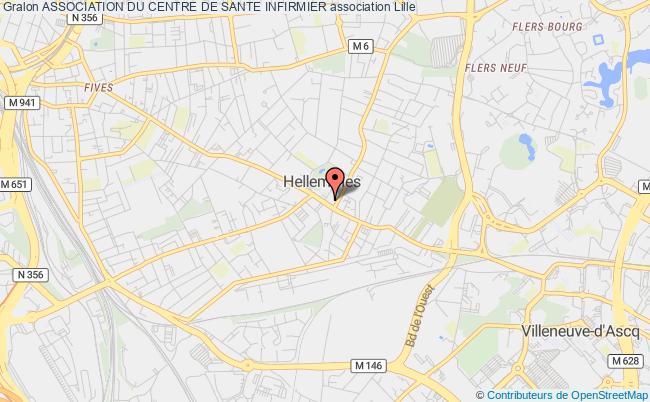 plan association Association Du Centre De Sante Infirmier Lille