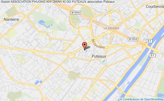 plan association Association Du Centre Parisien De Qwan Ki Do Puteaux