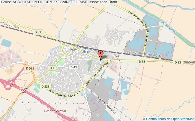 plan association Association Du Centre Sainte Gemme