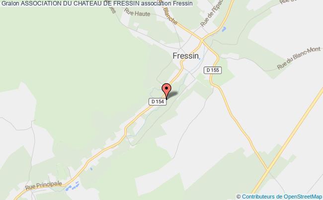plan association Association Du Chateau De Fressin