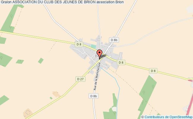 plan association Association Du Club Des Jeunes De Brion Brion