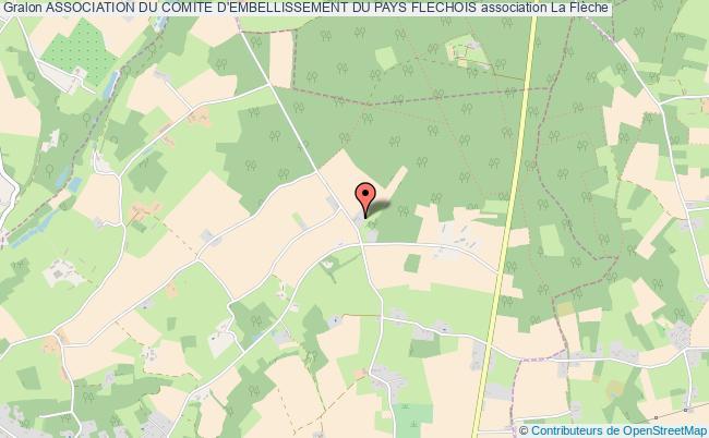 plan association Association Du Comite D'embellissement Du Pays Flechois
