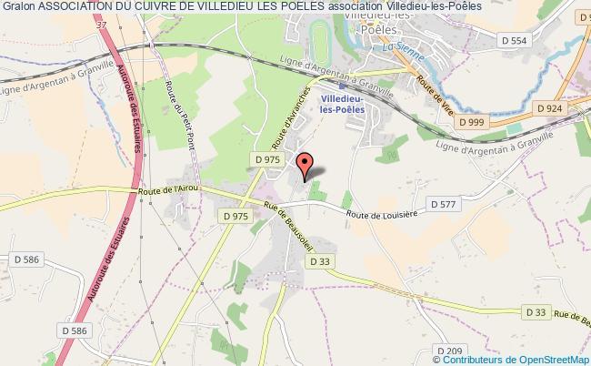 plan association Association Du Cuivre De Villedieu Les Poeles Villedieu-les-Poêles