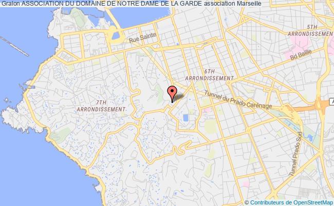 plan association Association Du Domaine De Notre Dame De La Garde