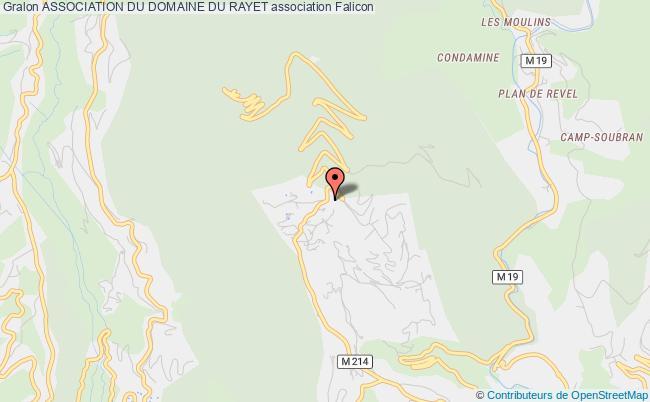 plan association Association Du Domaine Du Rayet
