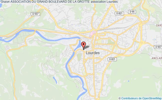 plan association Association Du Grand Boulevard De La Grotte