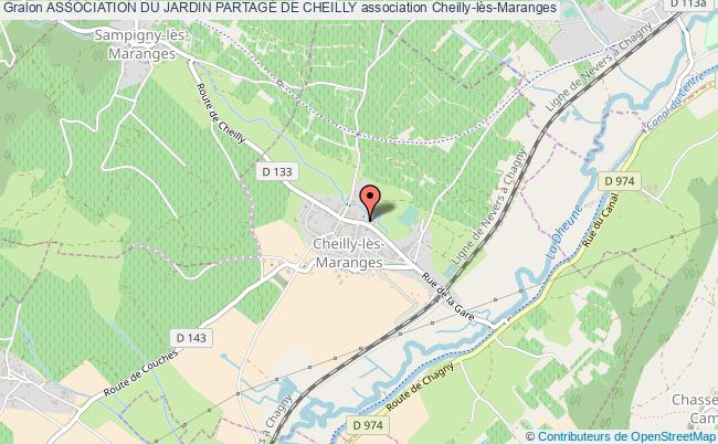 plan association Association Du Jardin PartagÉ De Cheilly