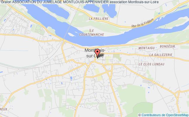 plan association Association Du Jumelage Montlouis-appenweier