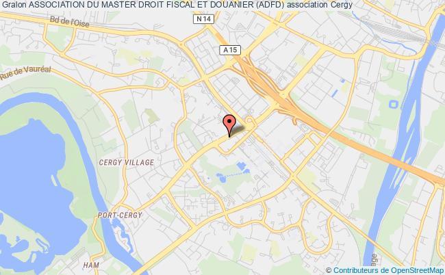 plan association Association Du Master 2 Droit Fiscal Et Douanier - (master 2dfd) - Adfd Cergy