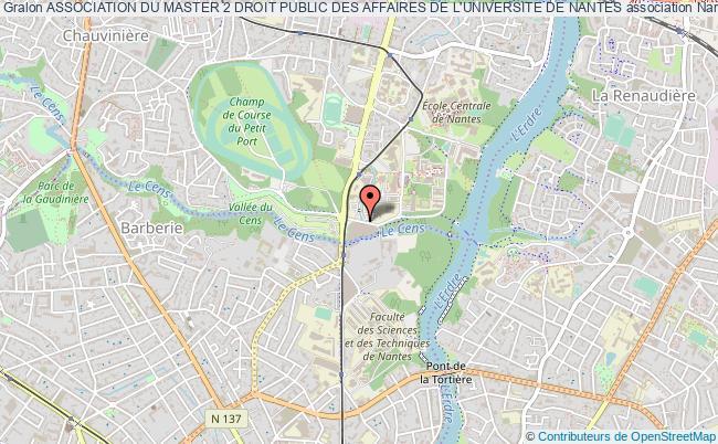 plan association Association Du Master 2 Droit Public Des Affaires De L'universite De Nantes