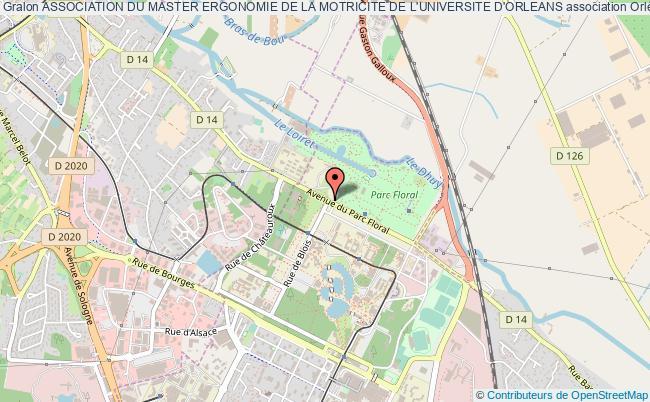 plan association Association Du Master Ergonomie De La Motricite De L'universite D'orleans