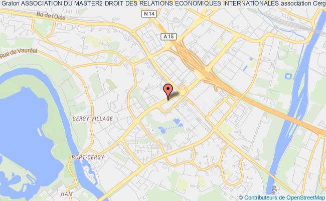 plan association Association Du Master2 Droit Des Relations Economiques Internationales Cergy