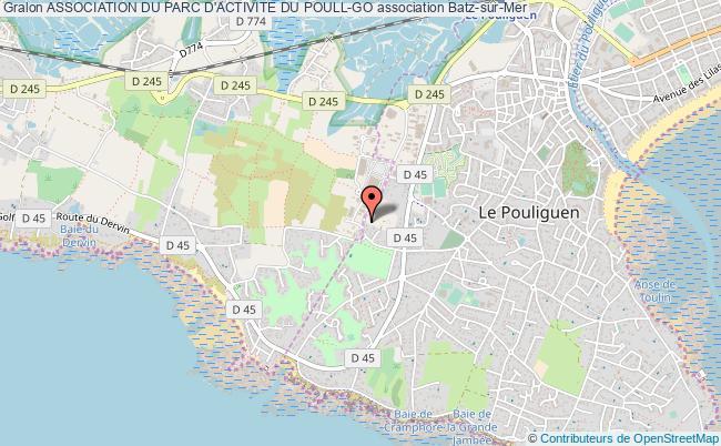 plan association Association Du Parc D'activite Du Poull-go