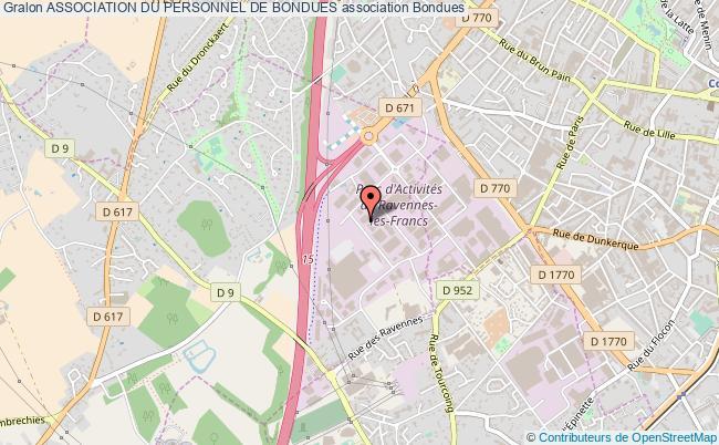 plan association Association Du Personnel De Bondues