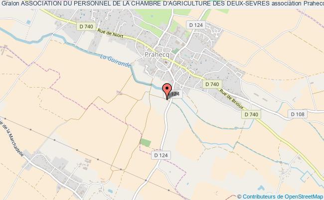 plan association Association Du Personnel De La Chambre D'agriculture Des Deux-sevres