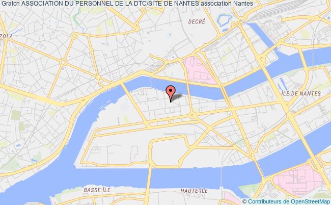 plan association Association Du Personnel De La Dtc/site De Nantes