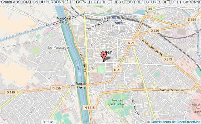 plan association Association Du Personnel De La Prefecture Et Des Sous Prefectures De Lot Et Garonne