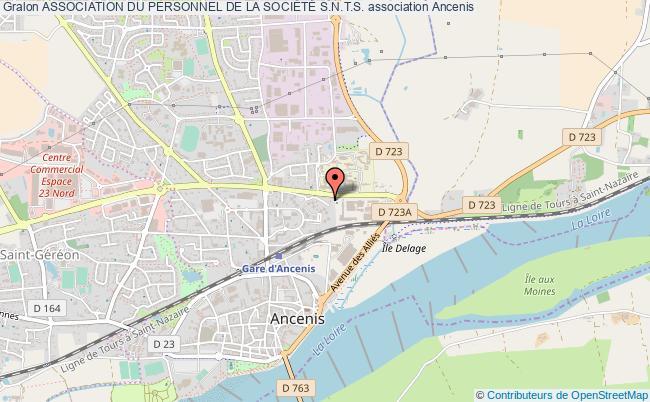 plan association Association Du Personnel De La SociÉtÉ S.n.t.s.