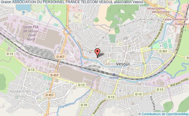 plan association Association Du Personnel France Telecom Vesoul Vesoul