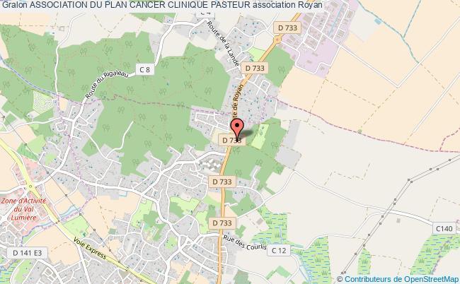 plan association Association Du Plan Cancer Clinique Pasteur Royan