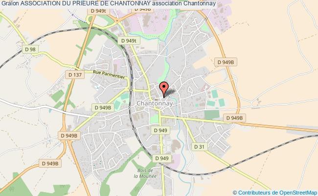 plan association Association Du Prieure De Chantonnay Chantonnay